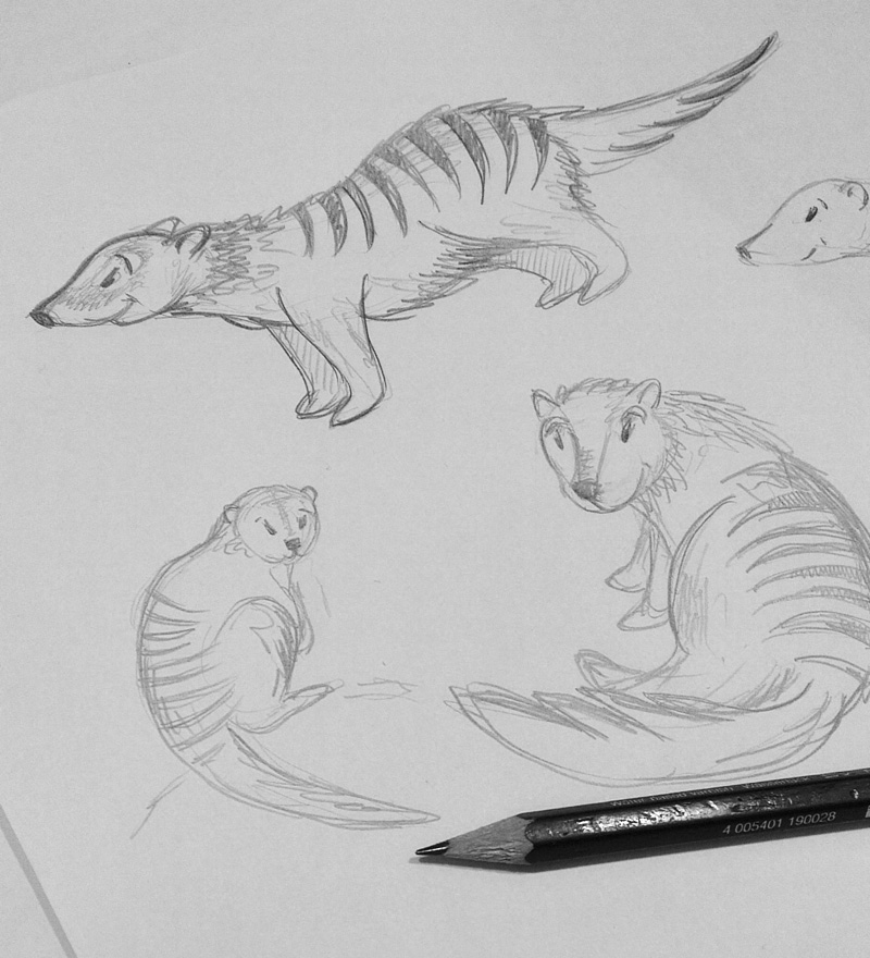 Mungos sind mutige kleine Tiere – Auf welchem Motiv werden sie wohl zu finden sein?