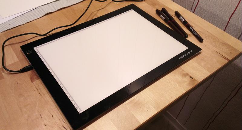 Ausgepackt: Das LightPad von DBPower
