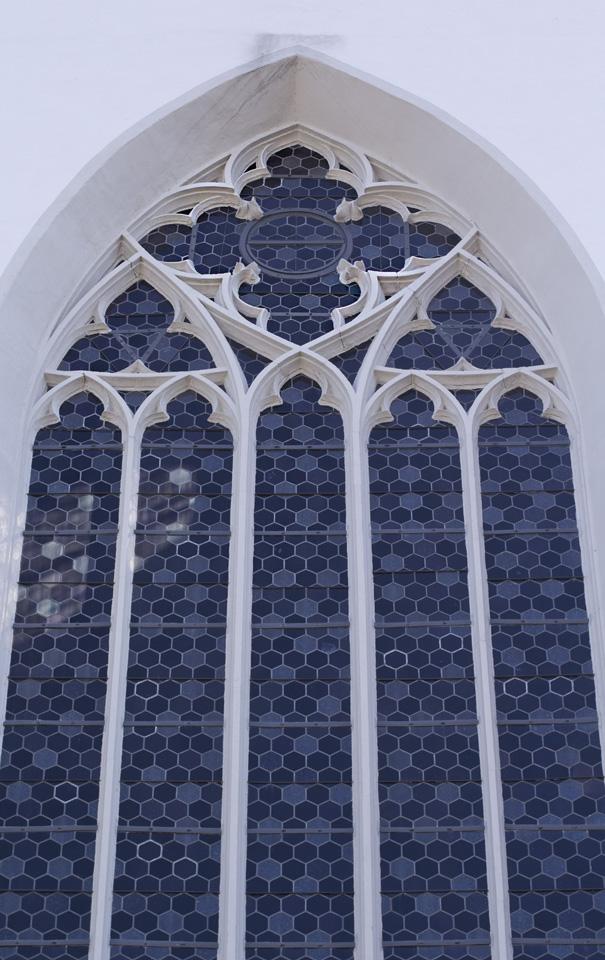 Das Fenster der Stadtkirche