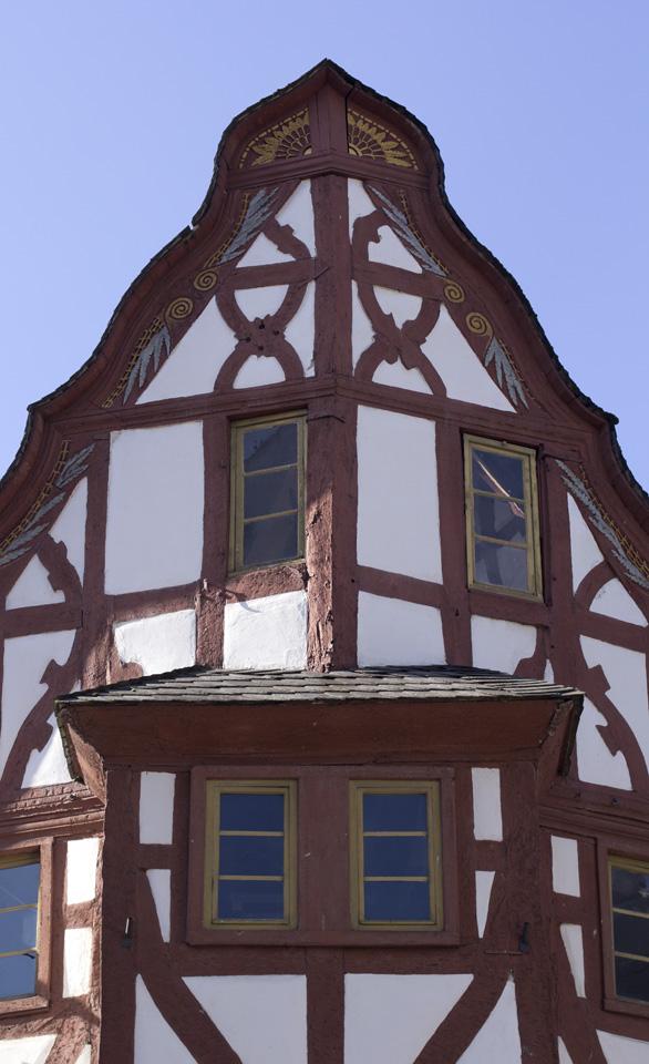 """Das """"Eck""""Haus an Bischofsplatz und Barfüßerstraße"""