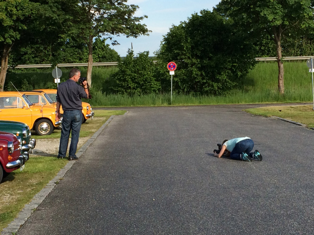 Fotografen bei der Arbeit. Foto: Torsten Hauser