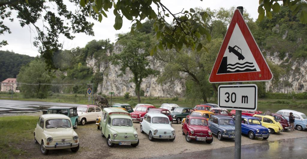 Parken an der Donau – Aber Obacht!