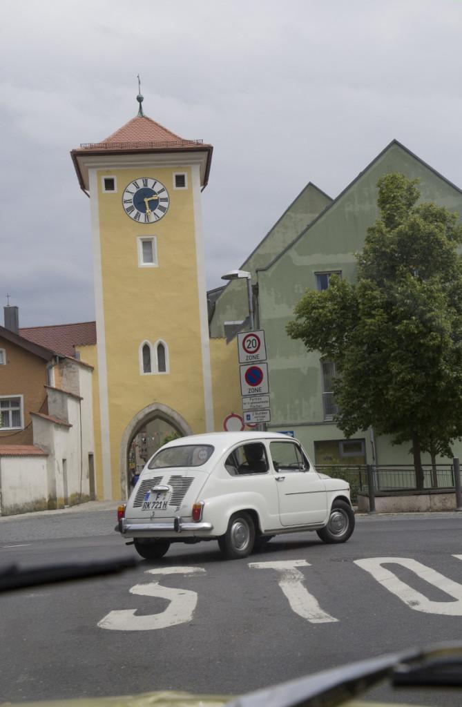 Zwei Frankfurter in Bayern.