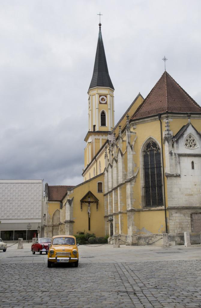 Vorbei an so manchem Kirchturm.