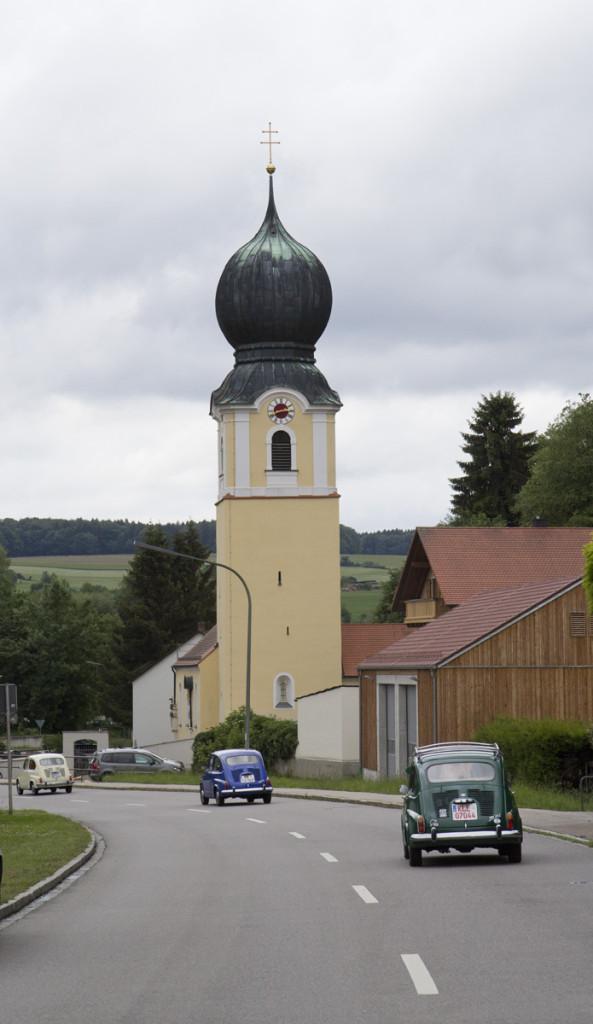 Die Reise durch Niederbayern.
