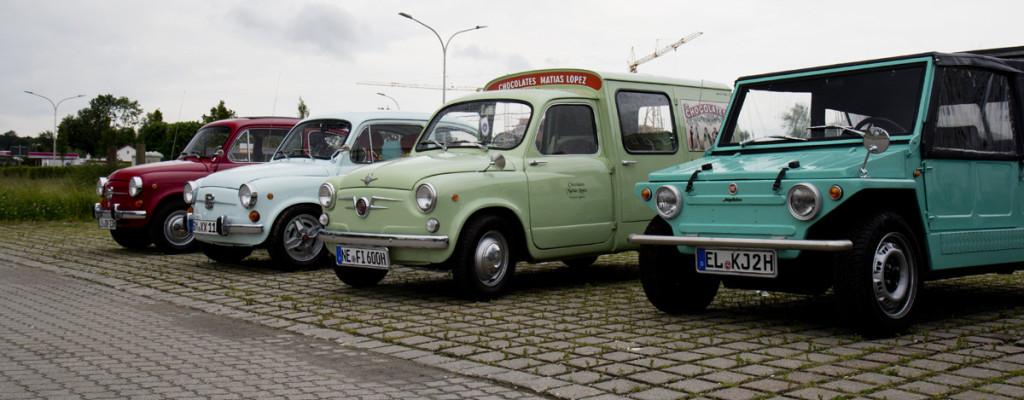Fiat 600, Siata Formichetta und Jungla.