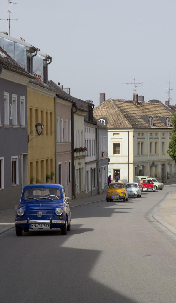 Nicht nur Landstaßen, auch enge Gassen gibt es auf der Tour durch Niederbayern.