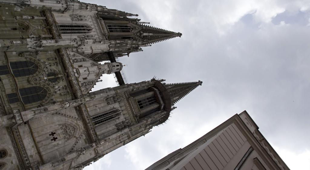 Der Dom zu Regensburg.