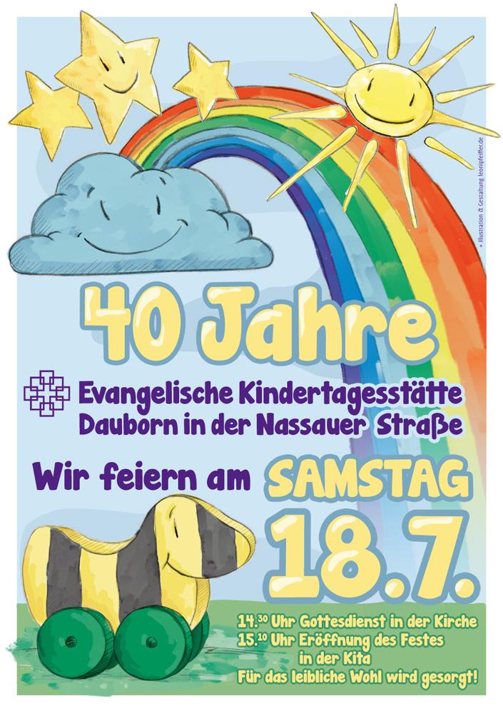 Das fertige Plakat mit allen Gruppen-Symbolen.