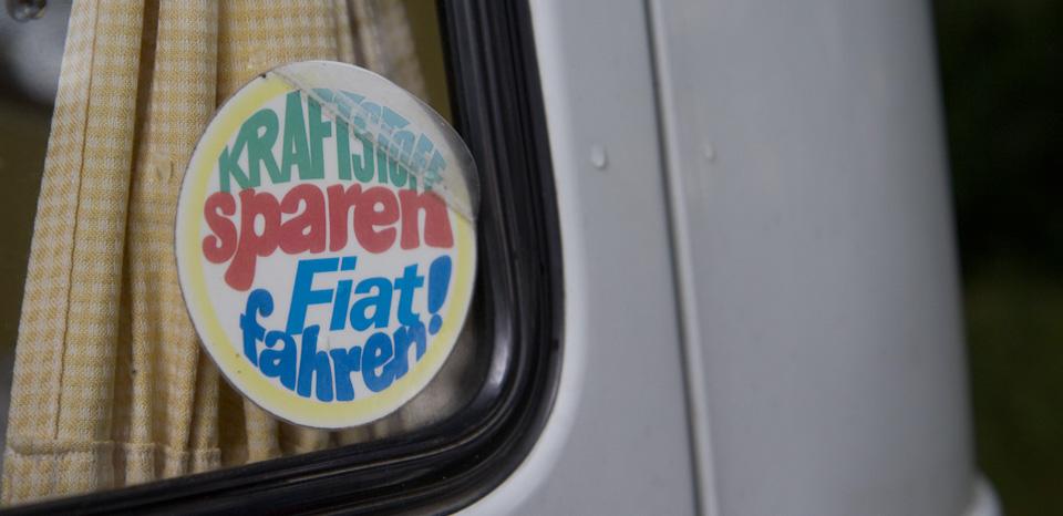 Kraftstoff sparen – Fiat fahren!