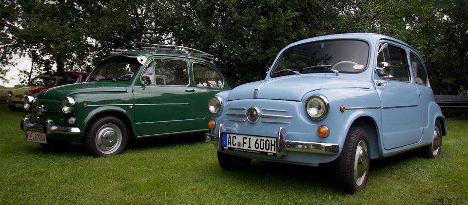 Grün und Blau… sieht gut zusammen aus!