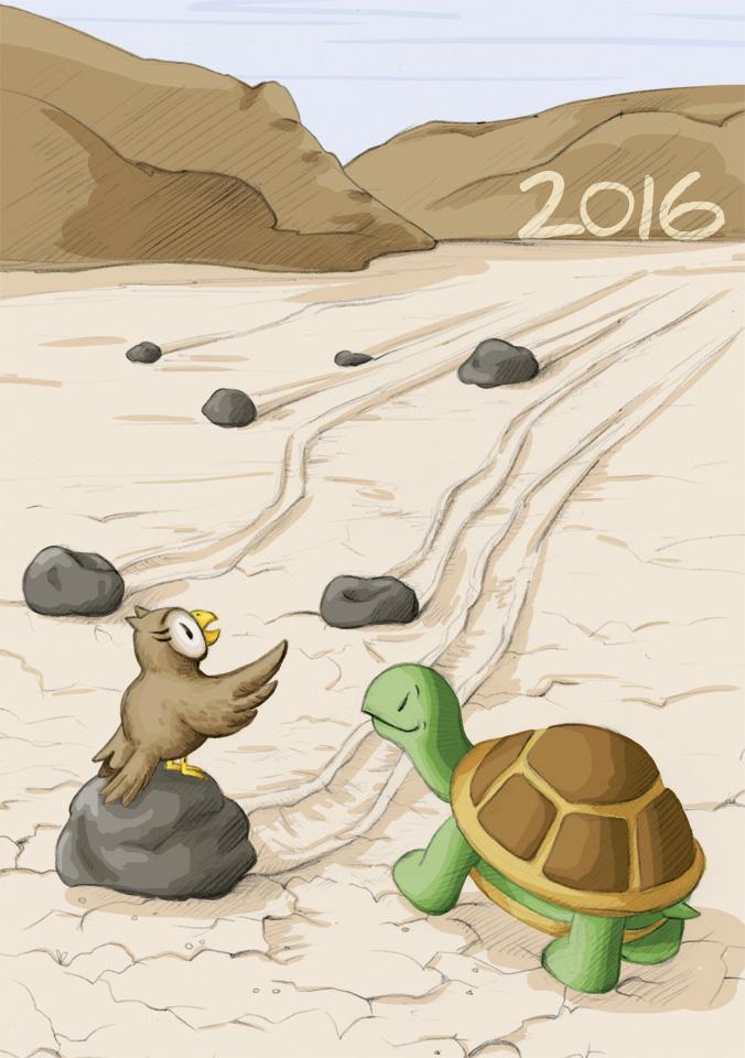 2016 ist schon zu sehen!