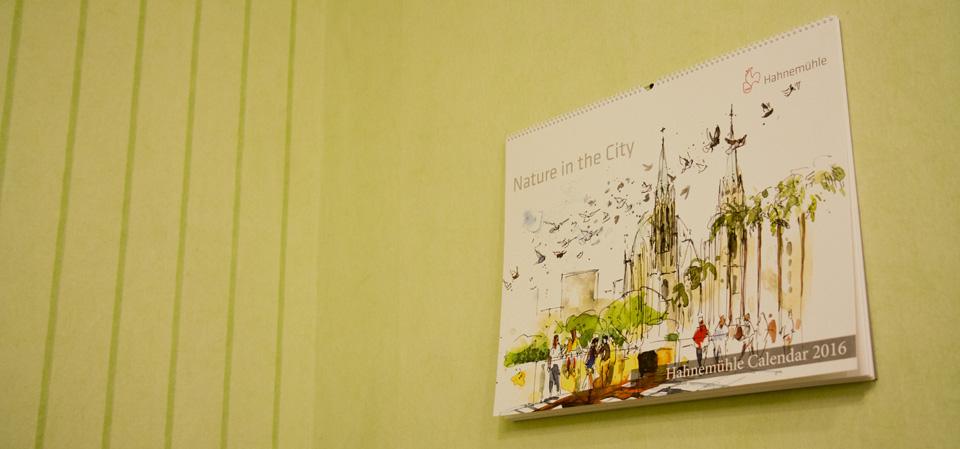 """Nature in the City"" –Covermotiv des Hahnmühle Kalender 2016 von Jens Hübner"