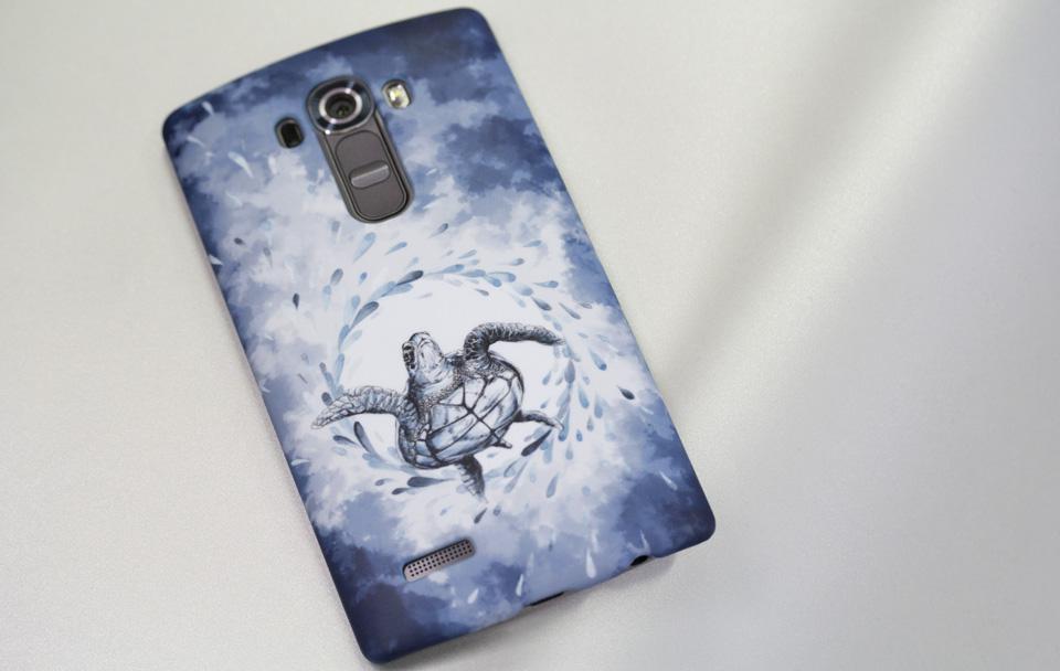 Schick matt - mein neues selbstgestaltetes Smartphonecover für das LG G4.