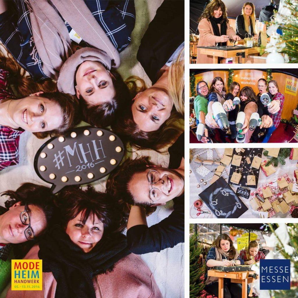 Unser Abschlussfoto der Verantstalung! Foto links und Adventskalenderbild rechts ©: Marion Vicenta Payr | Ladyvenom