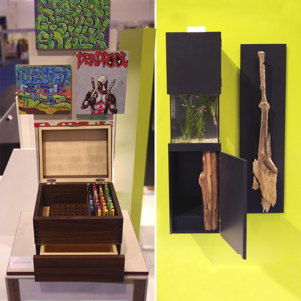 Ausstellung der Handwerkskammer - traumhafte Einzelstücke