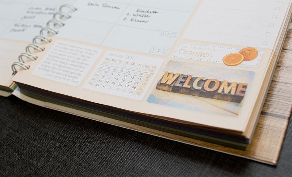 Monatsübersicht, To Do Liste und ein kleiner Tipp für die Woche.