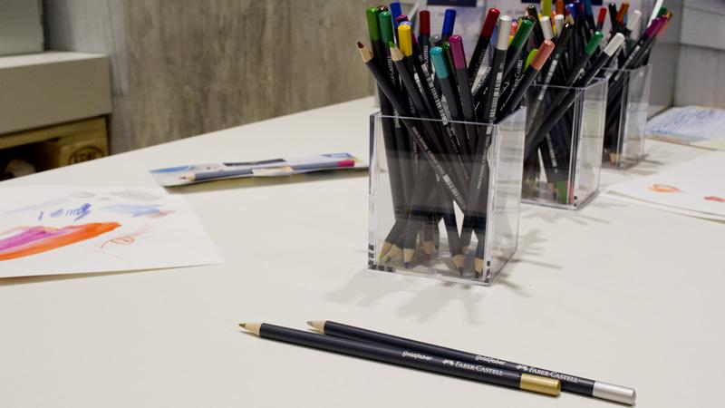 Neue Produktlinie für den Hobbykünstler: Creative Studio. Goldfaber Bunt- und Aquarellstifte von Faber-Castell.