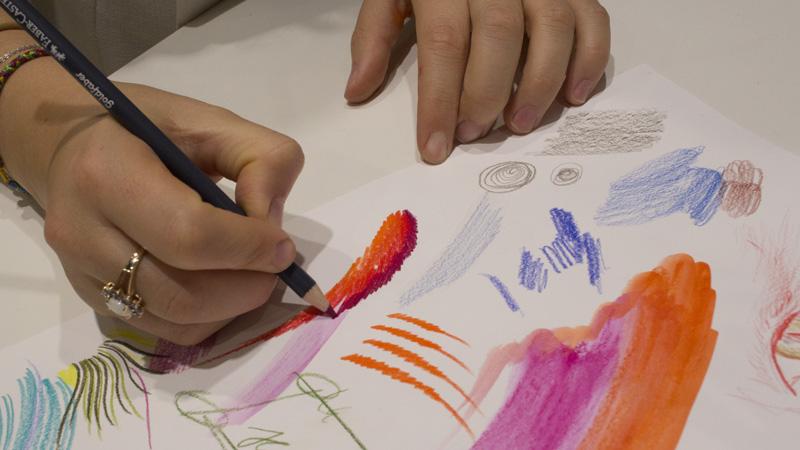 Goldfaber Stifte überzeugen durch den starke Pigmentierung und Farbauftrak. Die Produktlinie Creative Studio von Faber-Castell.