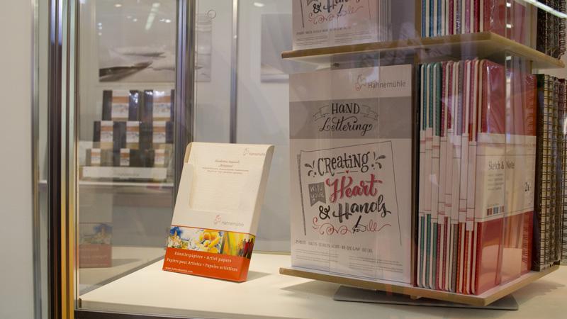 Neu auf dem Markt: Der Handlettering Block von Hahnemühle. Seidig glattes Papier mit 170g.