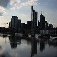 Sonnenschein in Frankfurt am Main