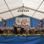 Frühschoppen mit dem Blasorchester des TV Dauborn.