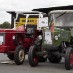 Auch vertreten: Traktoren aus alten Zeiten.