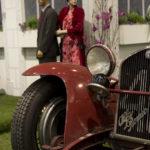 Alfa Romeo am Schloß der Siha.