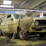 VW Passat aus der Scheune.