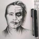 Heath Ledger vs. Joker Einer der Schauspieler, um die ich wirklich trauere.