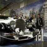 Glückliche Clubstand Gewinner: Panther Deville mit seinen 101 Dalmatinern.