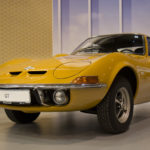 Das Serienmodel des Opel GT.