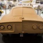Unterschiede am Heck: 1:1 Model von Prototyp und Serienproduktion.
