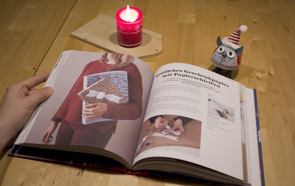 Ein Blick ins Buch: Übersichtliche Gestaltung, ansprechende Fotos.