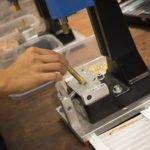 Original Werkzeuge nicht nur zum angucken! Bei Kaweco konnte sich jeder Besucher einen limitierten Messe-Füller zusammen bauen.