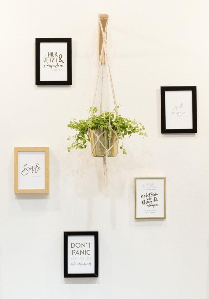 Kleine Rückwand fein gestaltet –Poule Folle Letterpress & Design aus Stuttgart.