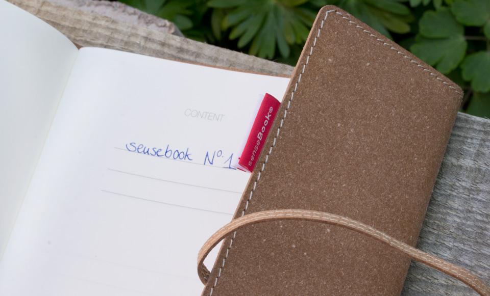 """senseBook No. 1 – mein Projektbuch """"Rettet die Honigbiene"""""""