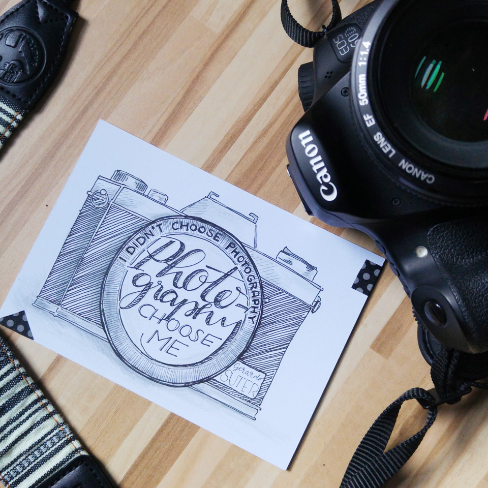 """I didn't choose Photography. Photography chose me."" Gerardo Suter"