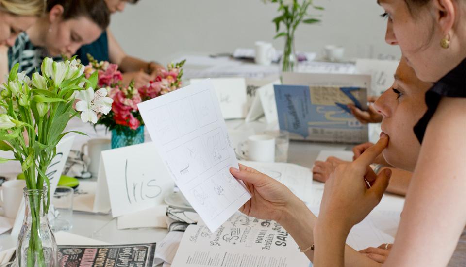 Schwere Entscheidung: Welches Scribble soll ausgearbeitet werden?