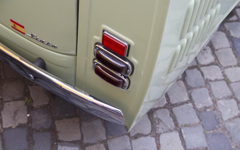 Auch hübsche Rückansichten können entzücken: Die Siata Formichetta aus Spanien (Basis Seat 600).