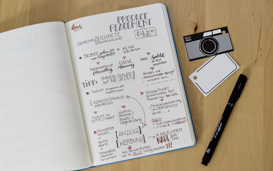 Produktplatzierung: Ab wann ist ein Beitrag als Werbung zu kennzeichnen?