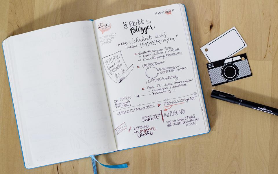 """""""Vertrag kommt von Vertragen"""" - Recht für Blogger"""