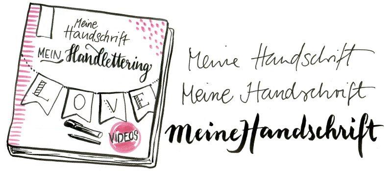 Von der eigenen Handschrift zum ganz eigenen Handlettering mit Dots and Stripes.
