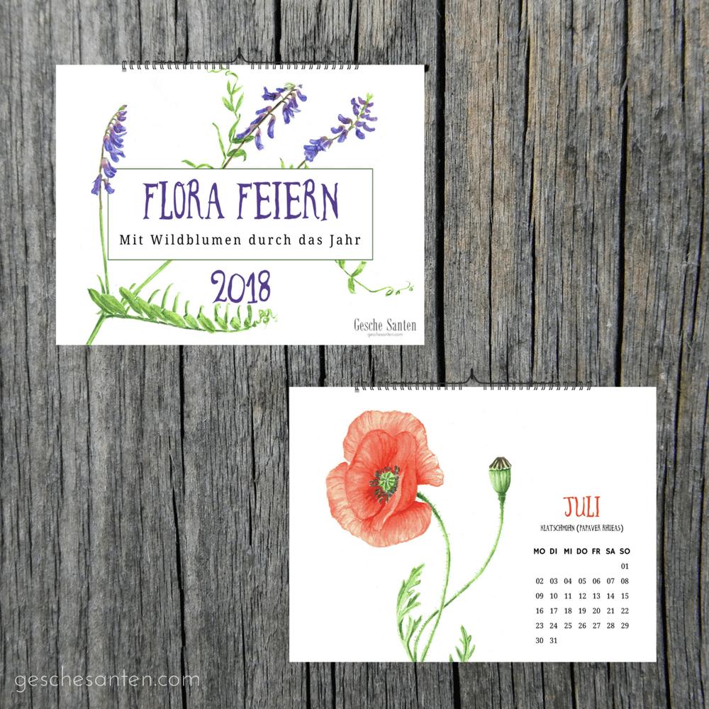Flora feiern - Heimische Wildblumen.