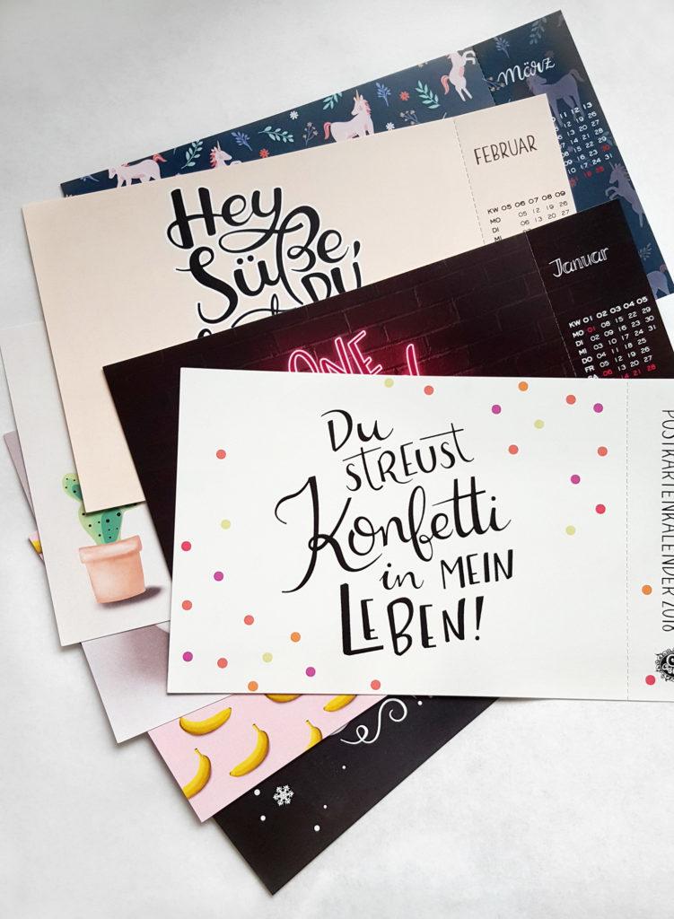 13 Motive im Postkartenformat