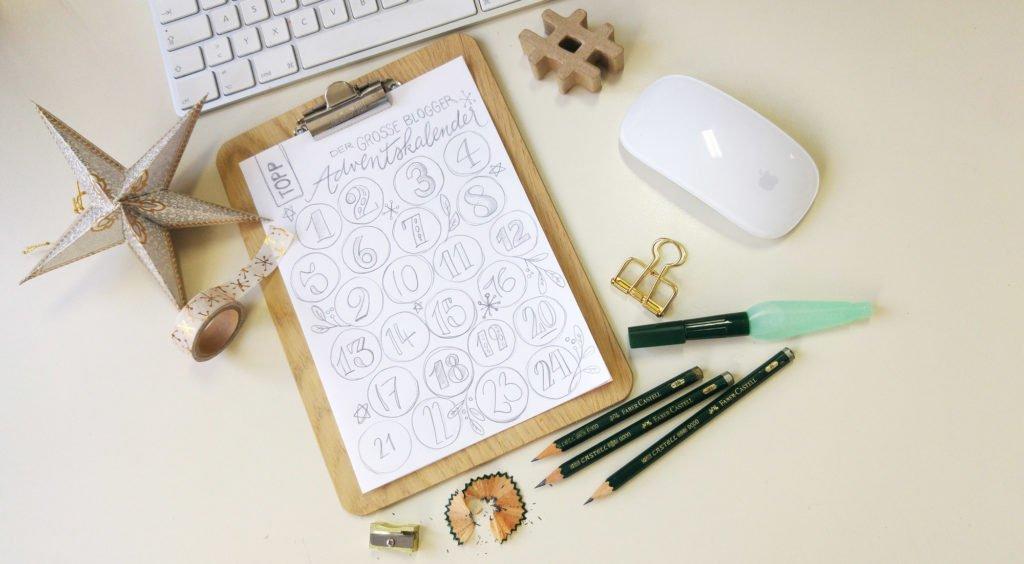 24 Türchen im Blogger-Adventskalender