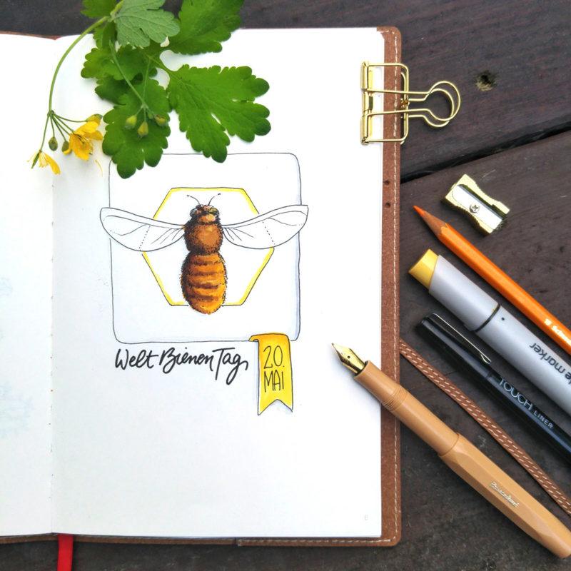 Mail Art: Mach mit bei der Aktion für unsere Bienen