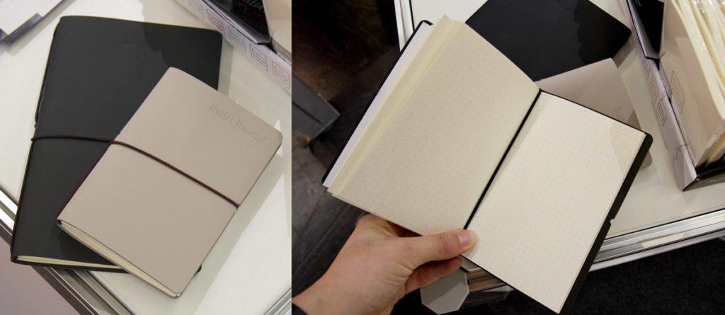 Bullet Journal: Feine Hüllen mit auswechselbaren Inlays bei Veloflex.