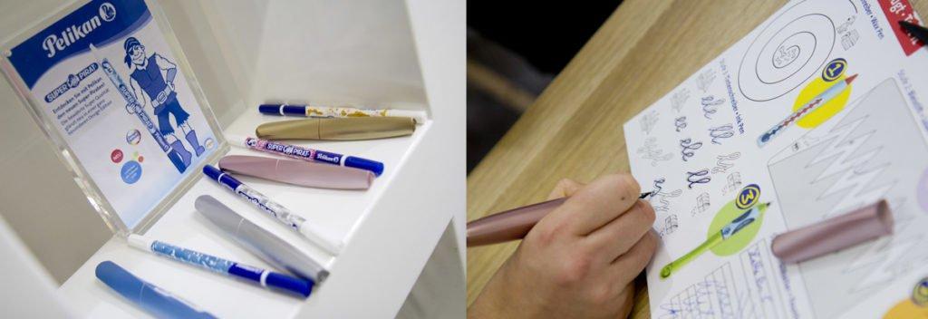 Auch bei Pelikan und Herlitz findet sich vieles in metallic Farben – sogar Tintenkiller.