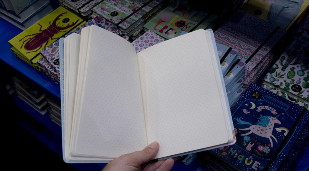 Notzigbücher für jeden Geschmack Magelan – mit dem etwas anderen Dotted Grid.